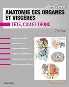 Couverture du livre « Anatomie des organes et viscères » de Michel Dufour aux éditions Elsevier-masson