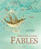 Couverture du livre « Merveilleuses fables » de Manuela Adreani aux éditions Kimane