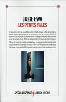 Couverture du livre « Les petites filles » de Julie Ewa aux éditions Albin Michel