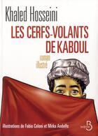 Couverture du livre « Les cerfs-volants de Kaboul » de Khaled Hosseini aux éditions Belfond