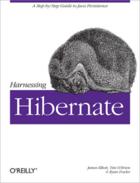 Couverture du livre « Harnessing hibernate » de James Elliott aux éditions O Reilly