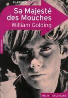 Couverture du livre « Sa majesté des mouches » de William Golding et Nicolas Saulais aux éditions Belin Education