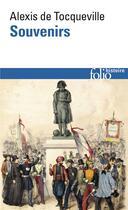 Couverture du livre « Souvenirs » de Tocqueville/Lefort aux éditions Gallimard