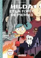 Couverture du livre « Hilda T.5 ; Hilda et la forêt de pierres (édition 2018) » de Luke Pearson aux éditions Casterman