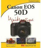 Couverture du livre « Canon eos 50D » de Collectif aux éditions Ma