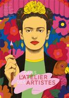 Couverture du livre « Dans l'atelier des artistes » de Collectif et Camille Gautier aux éditions Actes Sud Junior
