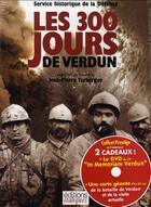 Couverture du livre « Les 300 jours de verdun » de Turbergue Jean-Pierr aux éditions Italiques
