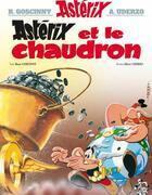 Couverture du livre « Astérix t.13 ; Astérix et le chaudron » de Rene Goscinny aux éditions Hachette