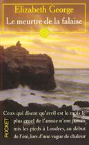 Couverture du livre « Meurtre De La Falaise » de Elizabeth George aux éditions Pocket