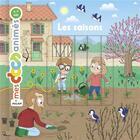 Couverture du livre « Les saisons » de Benjamin Becue et Anne Morel aux éditions Milan