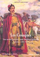 Couverture du livre « Les Cosaques » de Iaroslav Lebedynsky aux éditions Errance