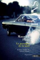 Couverture du livre « Le passager de la nuit » de Maurice Pons aux éditions Points