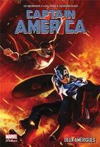 Couverture du livre « Captain America T.7 ; deux Amériques » de Ed Brubaker et Luke Ross et Jackson Guice aux éditions Panini