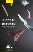 Couverture du livre « Le ruban » de Ito Ogawa aux éditions Editions Philippe Picquier