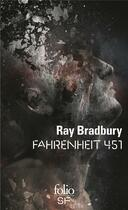 Couverture du livre « Fahrenheit 451 » de Ray Bradbury aux éditions Gallimard