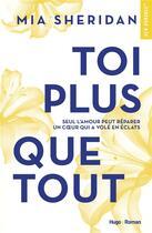 Couverture du livre « Toi plus que tout » de Sheridan Mia aux éditions Hugo Roman