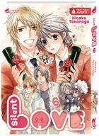 Couverture du livre « Silent love T.6 » de Hinako Takanaga aux éditions Kaze