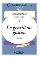 Couverture du livre « Lo gentilòme gascon » de Guilhem Ader aux éditions Per Noste