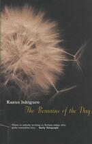 Couverture du livre « THE REMAINS OF THE DAY » de Kazuo Ishiguro aux éditions Faber Et Faber