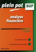 Couverture du livre « Analyse financière (5e édition) » de Chantal Buissart aux éditions Foucher