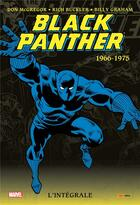 Couverture du livre « Black Panther ; INTEGRALE VOL.1 ; 1966-1975 » de Rich Buckler et Billy Graham et Don Mcgregor et Stan Lee et Jack Kirby aux éditions Panini