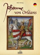 Couverture du livre « Johanna von Orléans » de Alain Hartog aux éditions Corsaire