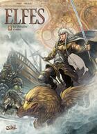 Couverture du livre « Elfes T.8 ; la dernière ombre » de Stephane Bileau et Luca Merli et Olivier Peru aux éditions Soleil