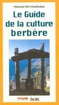 Couverture du livre « Guide de la culture berbère » de Mohand-Akli Haddadou aux éditions Paris-mediterranee