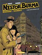 Couverture du livre « Nestor Burma T.8 ; boulevard.... ossements » de Nicolas Barral et Leo Malet aux éditions Casterman
