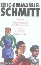 Couverture du livre « Col.Coffret-4 E. E. Schmitt » de Schmitt-E.E. aux éditions Albin Michel