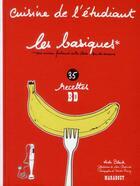 Couverture du livre « Cuisine de l'étudiant ; les basiques » de Keda Black aux éditions Marabout