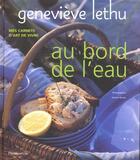 Couverture du livre « Au bord de l'eau » de Genevieve Lethu aux éditions Flammarion