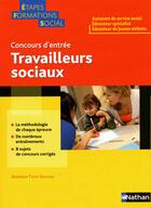Couverture du livre « Concours d'entrée ; travailleurs sociaux (édition 2011) » de Collectif aux éditions Nathan