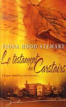 Couverture du livre « Le testament des Carstairs » de Fiona Hood-Stewart aux éditions Harlequin