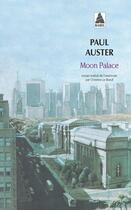 Couverture du livre « Moon palace » de Paul Auster aux éditions Actes Sud