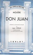Couverture du livre « Don Juan » de Moliere aux éditions Nel
