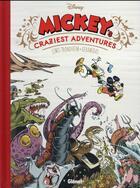Couverture du livre « Disney / Glénat ; Mickey's craziest adventures » de Lewis Trondheim et Nicolas Keramidas aux éditions Glenat