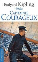 Couverture du livre « Capitaines courageux » de Rudyard Kipling aux éditions De Boree