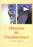 Couverture du livre « Histoire De L'Architecture Au Xx Siecle » de Collectif aux éditions Konemann