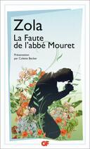 Couverture du livre « La faute de l'abbé Mouret » de Émile Zola aux éditions Flammarion