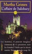 Couverture du livre « Affaire Salisbury » de Martha Grimes aux éditions Pocket