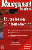 Couverture du livre « Toutes les cles d'un bon coaching » de Guinochet/Durieux aux éditions Esf Prisma