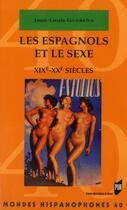 Couverture du livre « Espagnols Et Le Sexe » de Guerena aux éditions Pu De Rennes