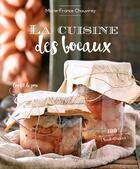 Couverture du livre « La cuisine des bocaux » de Marie-France Chauvirey aux éditions Sud Ouest Editions