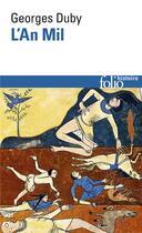 Couverture du livre « L'an mil » de Georges Duby aux éditions Gallimard