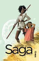 Couverture du livre « Saga T.3 » de Fiona Staples et Brian K. Vaughan aux éditions Urban Comics