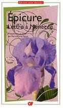 Couverture du livre « Lettre à Ménecée » de Epicure aux éditions Flammarion