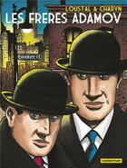 Couverture du livre « Les frères Adamov » de Jerome Charyn et Loustal aux éditions Casterman
