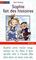 Couverture du livre « Sophie fait des histoires » de Peter Hartling aux éditions Pocket Jeunesse