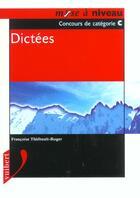 Couverture du livre « Dictees » de Francoise Thiebault-Roger aux éditions Vuibert